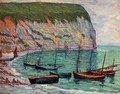 Fishing Boats on the Shore - Maxime Maufra