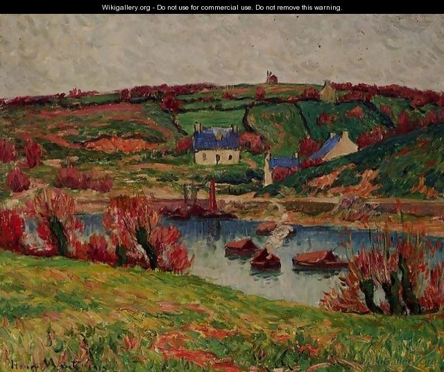 The River at Douaelan-sur-Mer - Henri Moret