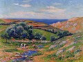 A Valley in Sadaine, the Bay of Douarnenez - Henri Moret