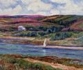 The River at Belon - Henri Moret