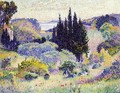 Cypress, April - Henri Edmond Cross