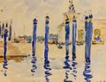 La Donana, Venice - Henri Edmond Cross