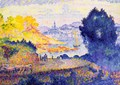 View of Menton - Henri Edmond Cross