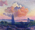 The Pink Cloud - Henri Edmond Cross