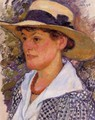Portrait of a Woman - Theo van Rysselberghe