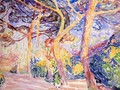 Under the Pines - Henri Edmond Cross