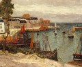 The Port of Sauzon, Belle Isle en Mer - Maxime Maufra