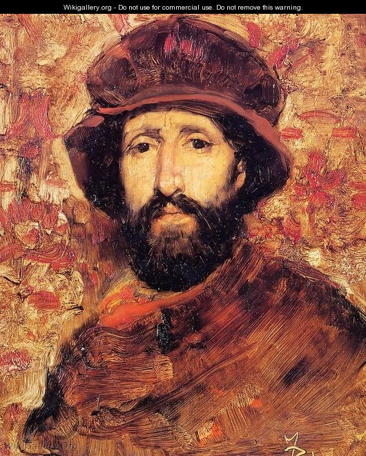 Fellow Artist in Costume I - Frank Duveneck