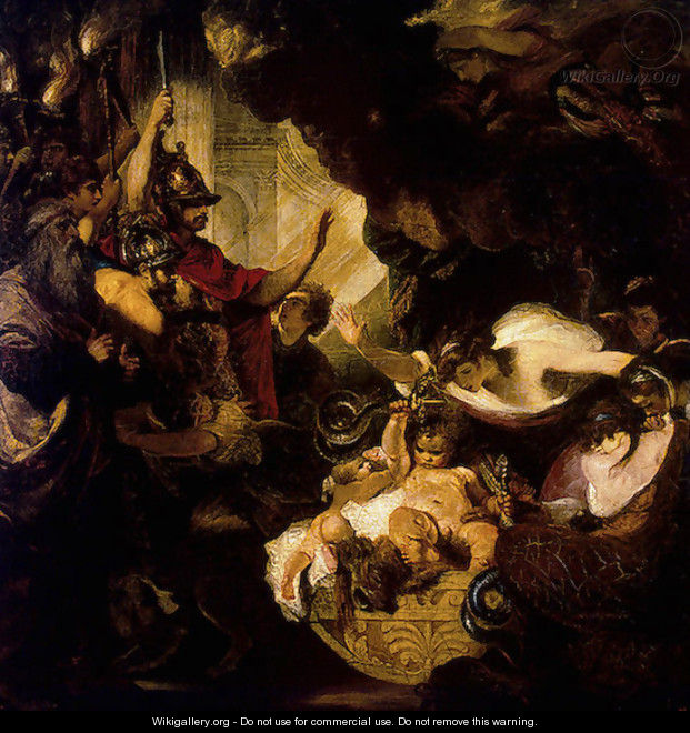 The Infant Hercules Strangling the Serpents - Sir Joshua Reynolds