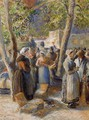 The Market in Gisors - Camille Pissarro