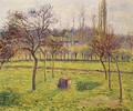 Apple Trees in a Field - Camille Pissarro