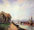 View of Rouen - Camille Pissarro