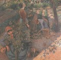 Apple Picking - Camille Pissarro