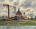 The Factory - Camille Pissarro