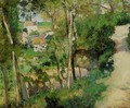 The Rising Path, Pontoise - Camille Pissarro