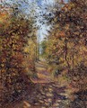 A Path in the Woods, Pontoise - Camille Pissarro