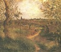 A Path Across the Fields - Camille Pissarro