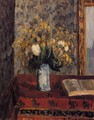 Vase of Flowers, Tulips and Garnets - Camille Pissarro