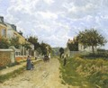 Entrance to a Village - Victor-Alfred-Paul Vignon