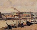 Morning, Rouen, the Quays - Camille Pissarro