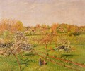 Morning, Flowering Apple Trees, Eragny - Camille Pissarro