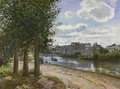 Banks of the Oise - Camille Pissarro