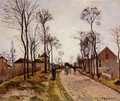 The Road to Caint-Cyr at Louveciennes - Camille Pissarro