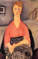 Pink Blouse - Amedeo Modigliani