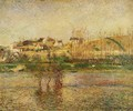 Flood in Pontoise - Camille Pissarro