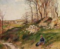 The Chou Quarries, Pontoise - Camille Pissarro