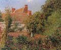 Kitchen Garden in Eragny, Afternoon - Camille Pissarro