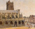 The Church of Saint-Jacques, Dieppe - Camille Pissarro
