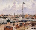 The Inner Harbor, Le Havre - Camille Pissarro