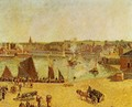 The Inner Harbor, Dieppe - Camille Pissarro