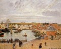 The Port of Dieppe - Camille Pissarro