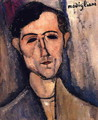Man's Head - Amedeo Modigliani