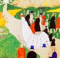 The wedding - Kazimir Severinovich Malevich