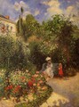 The Garden at Pontoise - Camille Pissarro