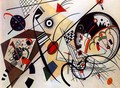Throughgoing line - Wassily Kandinsky