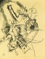 Drawing for Etching II - Wassily Kandinsky