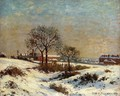 Landscape under Snow, Upper Norwood - Camille Pissarro