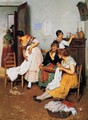 The New Suitor - Eugene de Blaas