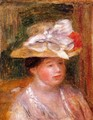 Head of a Woman I - Pierre Auguste Renoir