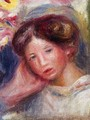 Woman's Head II - Pierre Auguste Renoir