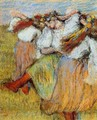 Russian Dancers IV - Edgar Degas