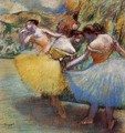 Three Dancers II - Edgar Degas