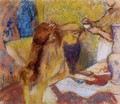 Woman at Her Toilette II - Edgar Degas