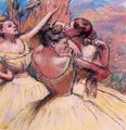 Three Dancers III - Edgar Degas