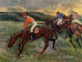 Three Jockeys - Edgar Degas