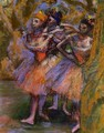 Three Dancers IV - Edgar Degas